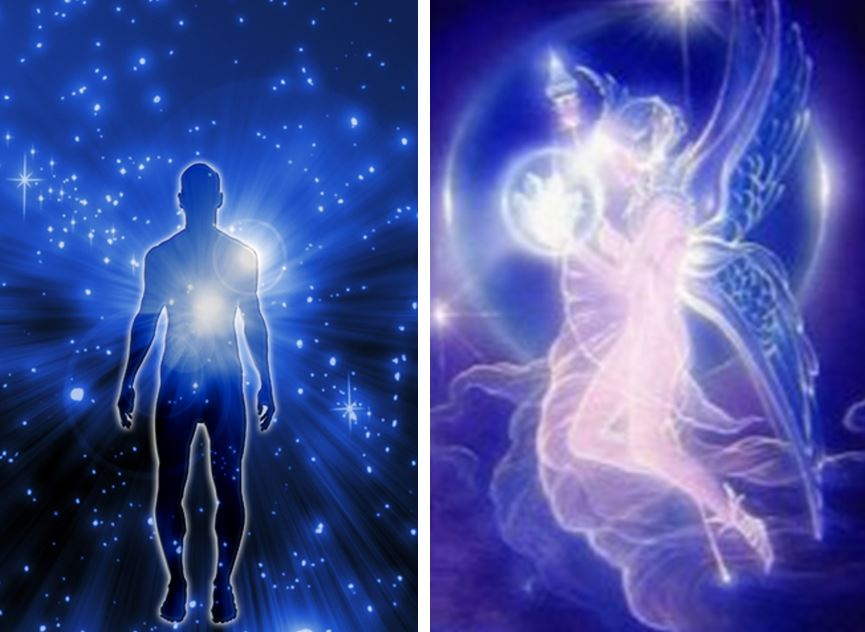 The Energy Bodies of Man, the spirit man,