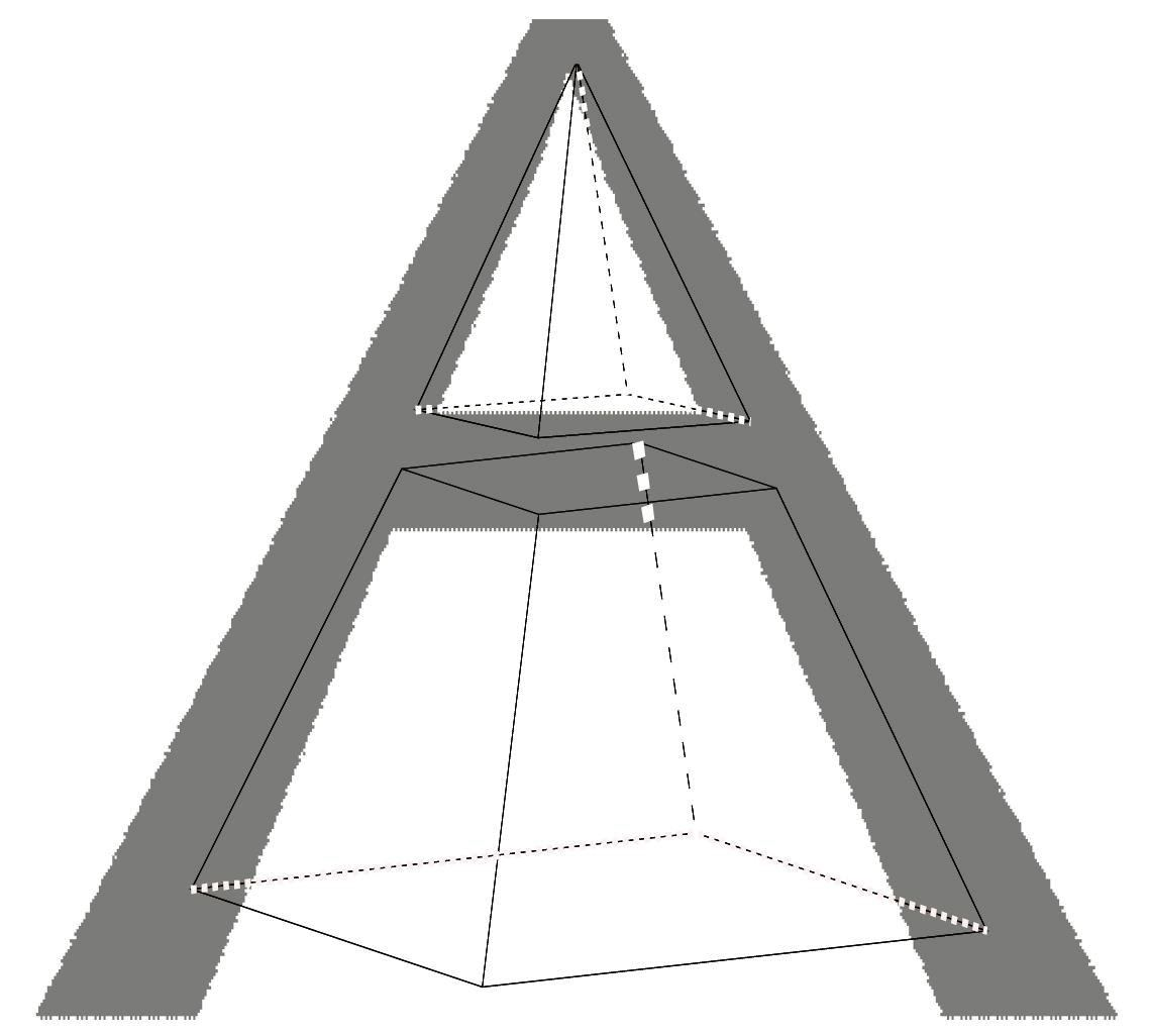 1-truncated-pyramid & A