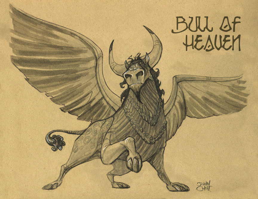 Bull-of-Heaven-Gilgamesh