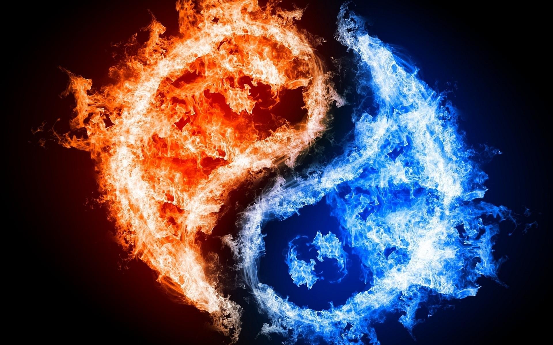 fire-yin yang