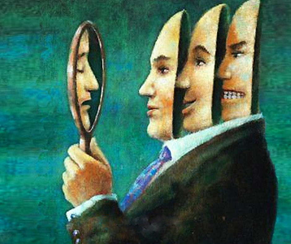 "The Mask of the ""good person"" and its numerous ""Faces"""